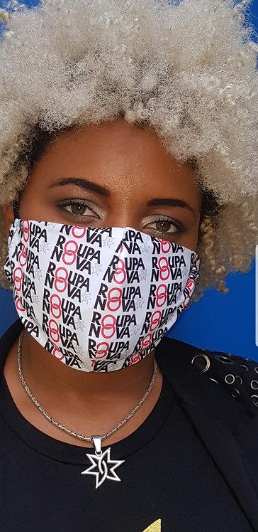 Máscara Roupa Nova Branca