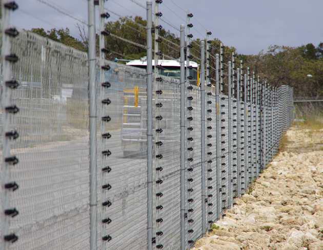 Construction site electrical fencing Per