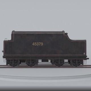 Coal Car Turntable - Clay