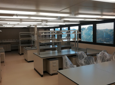 The lab is (almost) open!