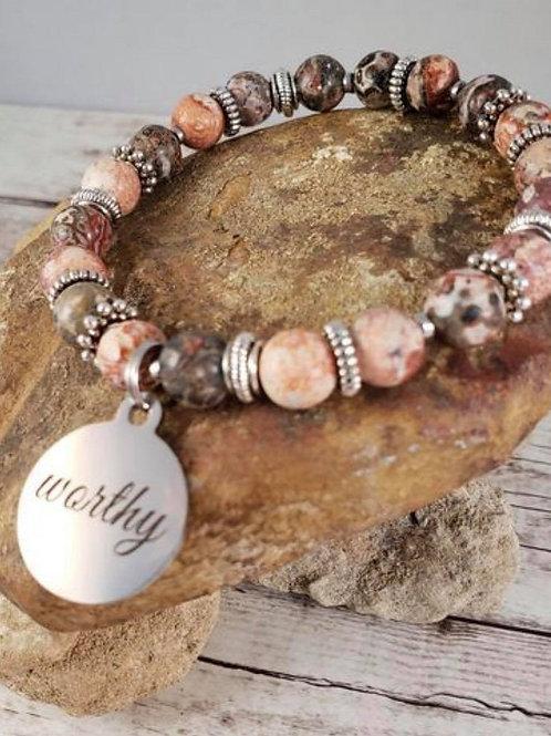 Worthy Faith Stretch Bracelet Plus size