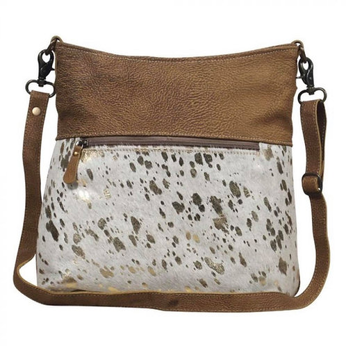 Myra Bag Freethinker Leather Shoulder Bag