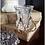 Thumbnail: Genuine Turquoise & Picture Jasper Teardrop Dangle Earrings