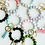 Thumbnail: Bangle Silicone Wristlet Bead Keychain