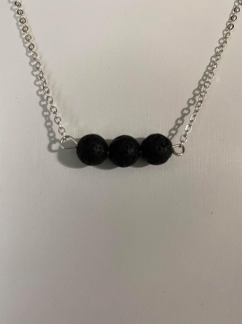 Essential Oil Lava Stone Necklace