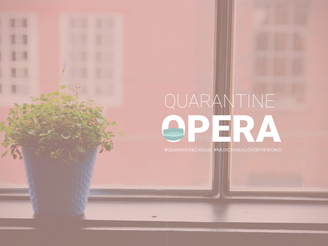 FOR IMMEDIATE RELEASE: Quarantine Opera reaches 1 Million views