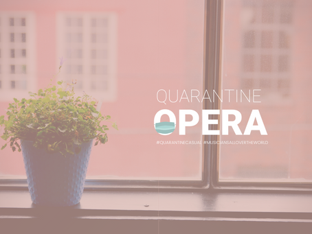 FOR IMMEDIATE RELEASE: Quarantine Opera reaches 1 Million views
