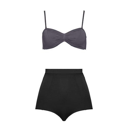 Bikini Set Mixed Colors Dark Grey