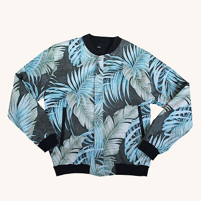 Mens Reversible Aloha jacket