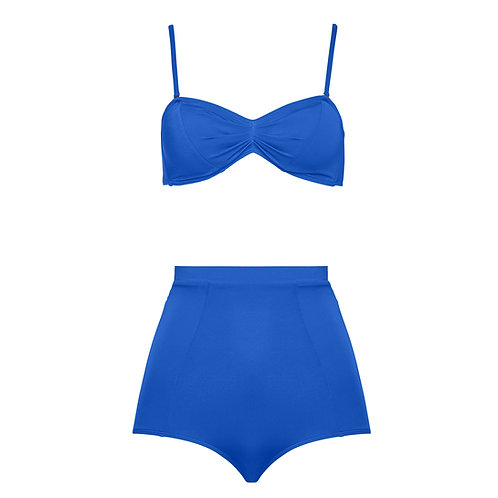 LUISE High waist bikini ink-blue