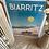 Thumbnail: Affiche Biarritz Grande Plage