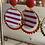 Thumbnail: Boucles d'oreilles little pretty rouges