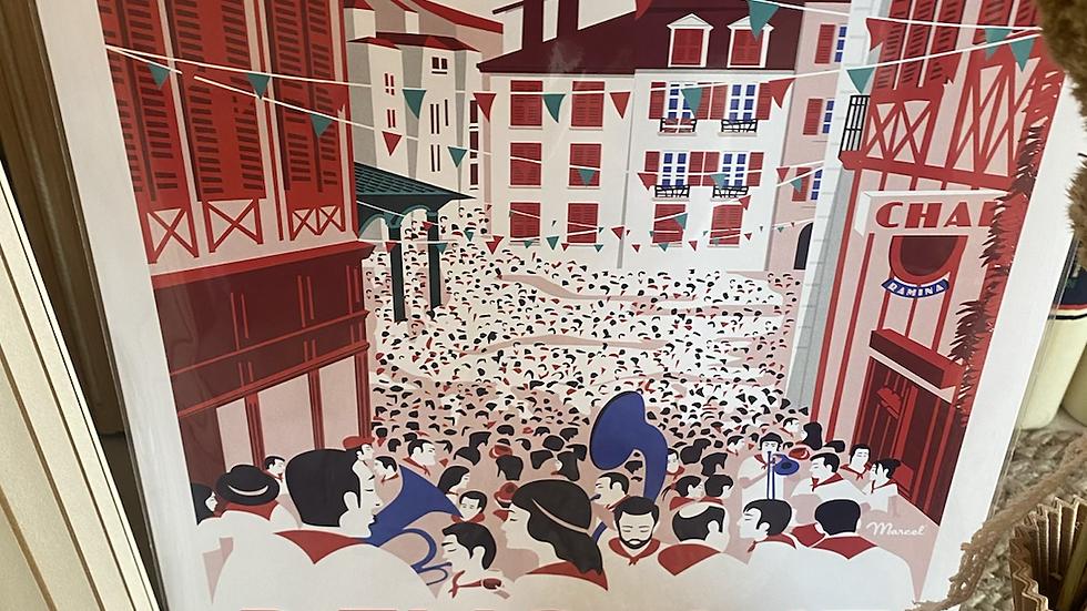 Affiche Bayonne en fête