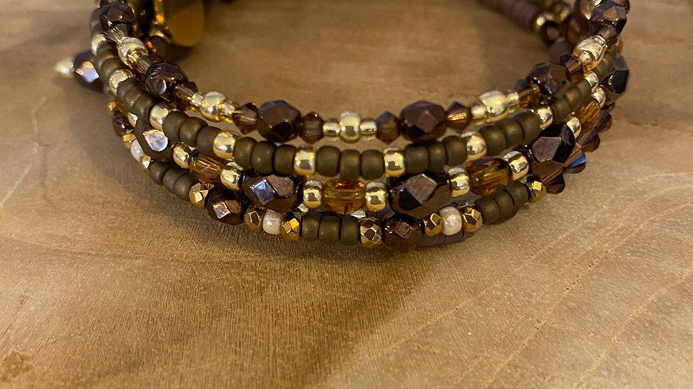 Bracelet Orla Marron