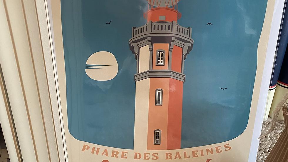 Affiche Phare des Baleines