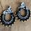 Thumbnail: Boucles d'oreilles Scarlett Noires