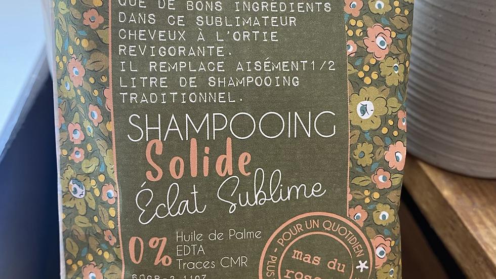 Shampooing solide éclat sublime