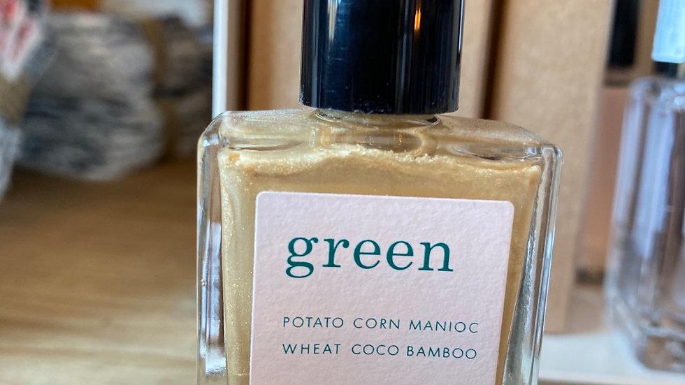 Vernis Green coloris Gold Sand