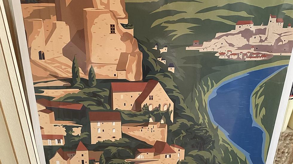Affiche Dordogne