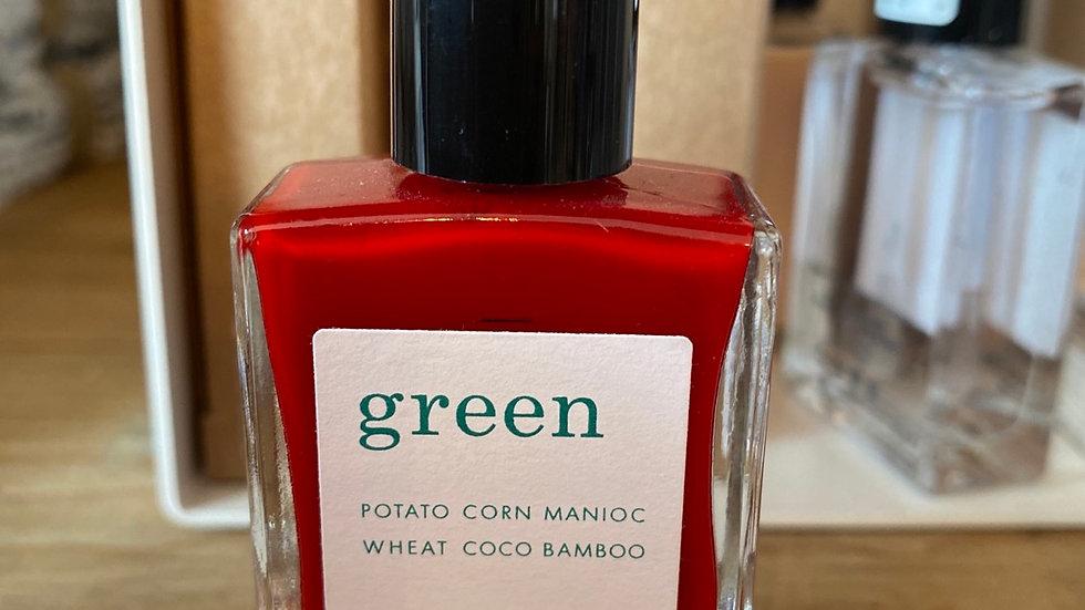 Vernis Green coloris Red Cherry