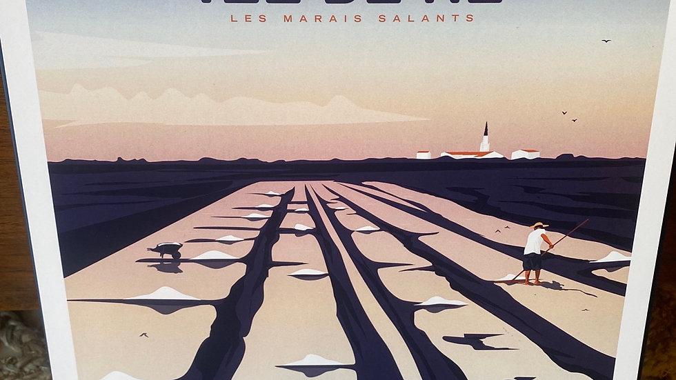 Île de Ré Marais salants