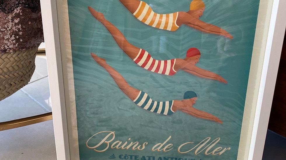 Affiche Côte Atlantique