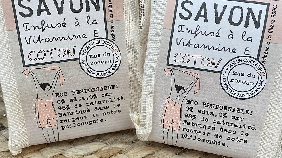 Savon coton