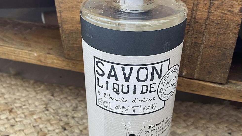 Savon liquide à l'huile d'olive Églantine