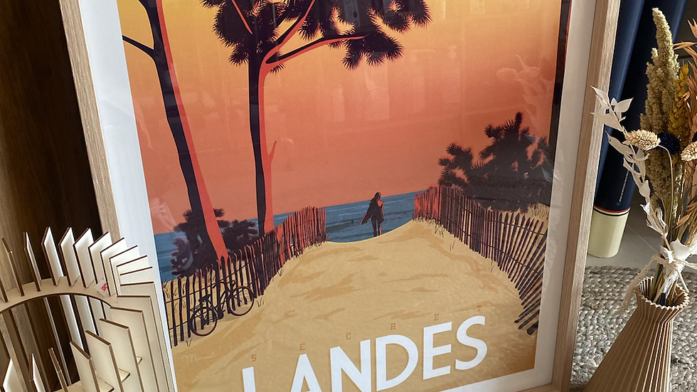 Affiche Landes
