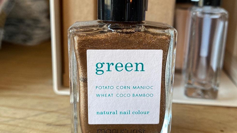 Vernis Green coloris Bronzé