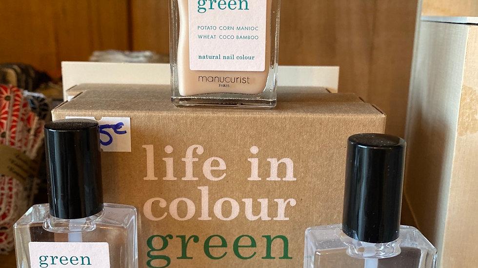 Coffret vernis Green