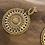 Thumbnail: Boucles d'oreilles kaly dorées