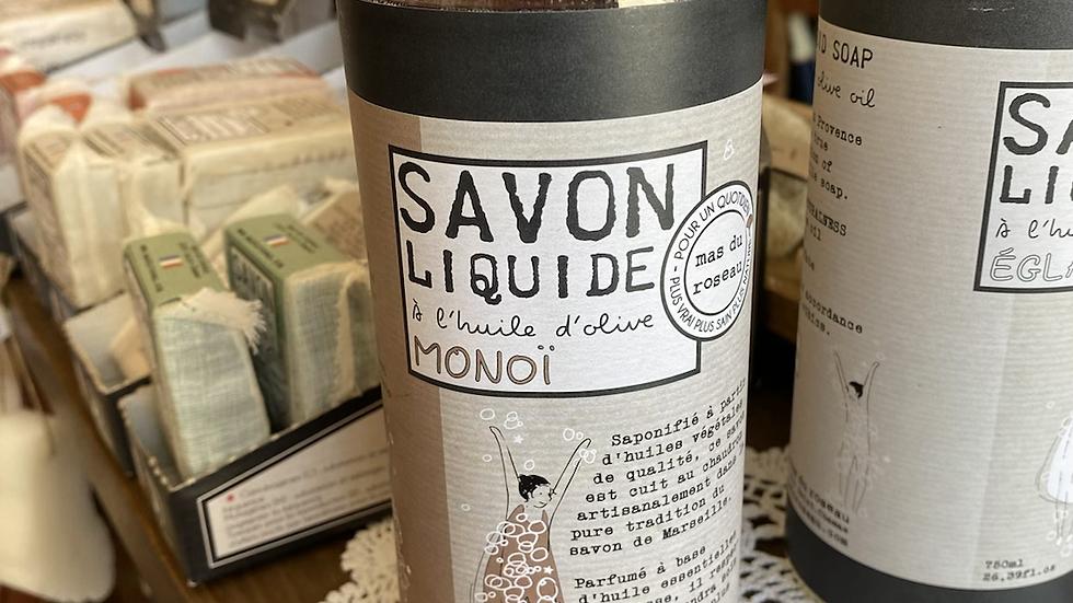 Savon liquide Monoï