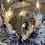 Thumbnail: Couronne corde et fleurs séchées