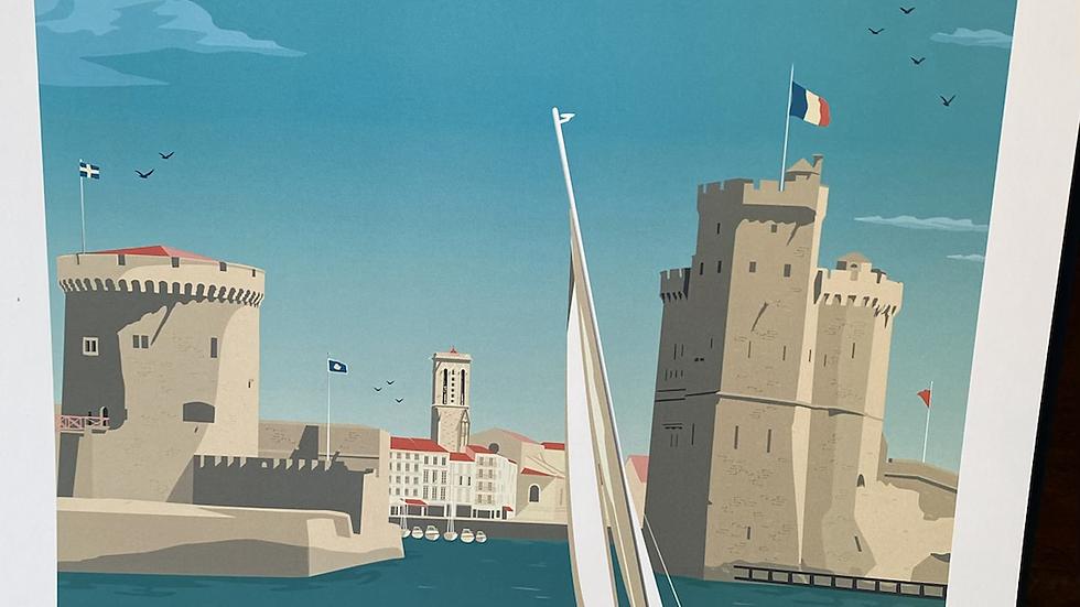 Affiche La Rochelle