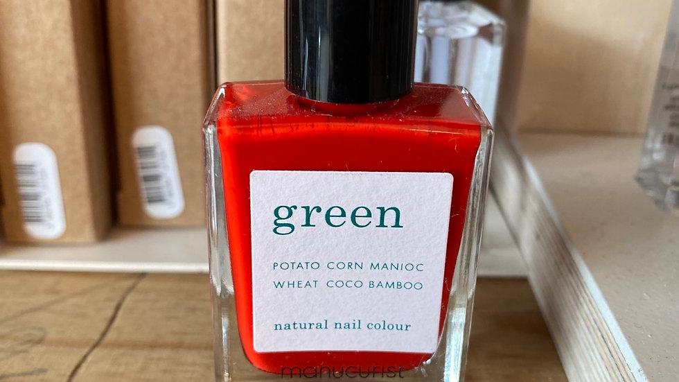 Vernis Green coloris Poppy Red