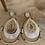 Thumbnail: Boucles d'oreilles Gaby blanches