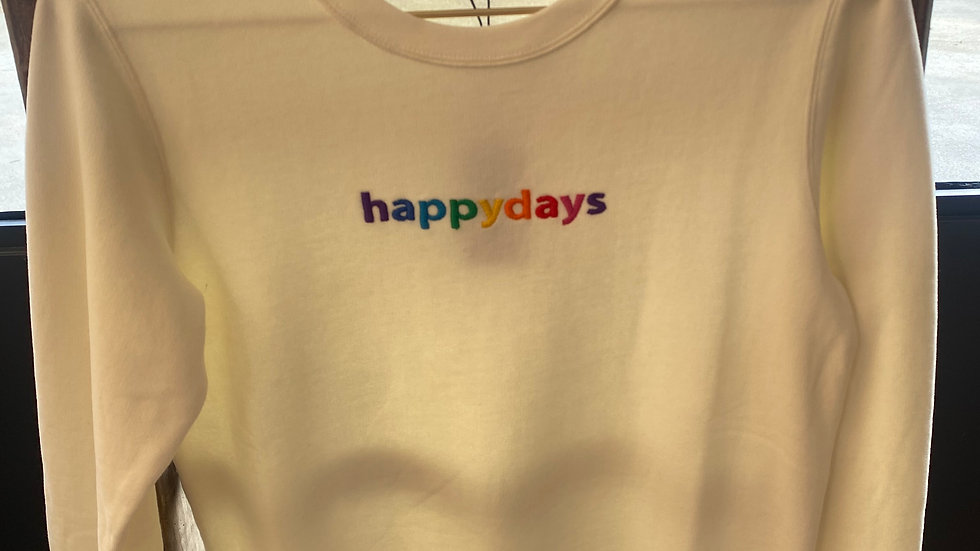 Sweat Femme Happydays