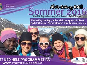 Aktiv Ferie og Fritid - sommertilbud 2016!