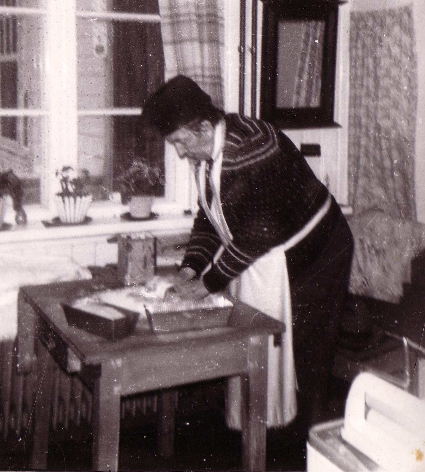 Marcello baker på Svarga