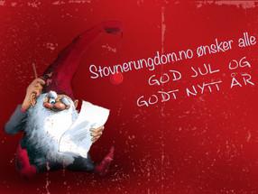 Vi ønsker dere alle en god Jul og et Godt Nytt År!