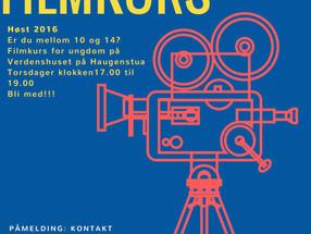 Filmkurs på Verdenshuset