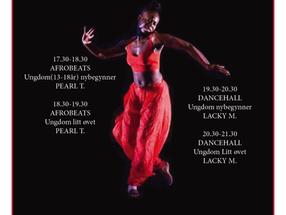 Dansekurs med Lacky og Pearl  på Blokk 58 - onsdager - et samarbeid med Drømmefanger!