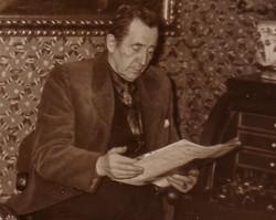 Marcello i stua på Svarga