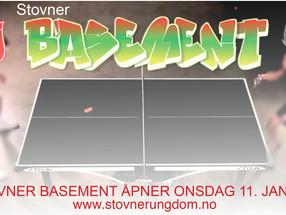 Stovner Basement åpner igjen 11. januar 2017