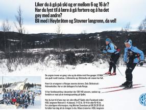 Vil du være med å gå på ski?