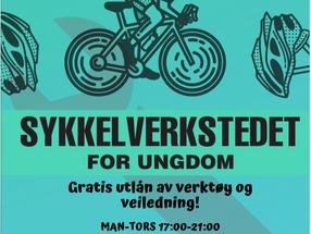 Sykkelverksted for Ungdom i sommer