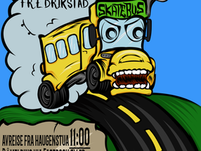 Skatetur til Fredrikstad 11. februar