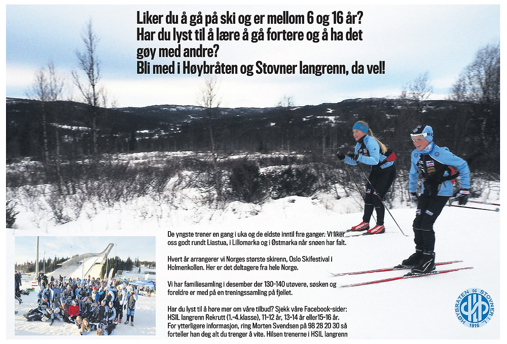 Liker du å gå på ski?