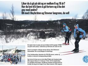 Liker du å gå på ski? Kanskje dette er noe for deg?